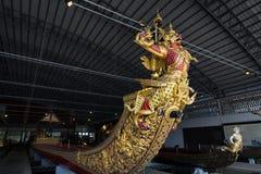 Bangkok, Thailand - August 12, 2017: Royal Barge Narai Song Suban in National Museum, Bangkok, Thaila Stock Photography