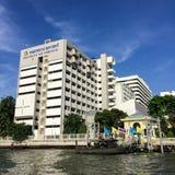 Bangkok, Thailand - August 9, 2016: Siriraj hospital is the firs Royalty Free Stock Image
