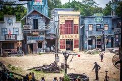 BANGKOK, THAILAND 5 AUGUST 2014, Wild west Cowboy Stock Photos