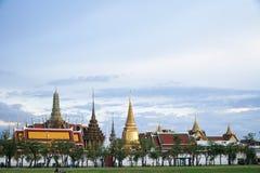 BANGKOK, THAILAND - Augustus 27: Foto in Wat Phra Kaew en syk op 27 Augustus 2016 in Bangkok, Thailand Royalty-vrije Stock Fotografie