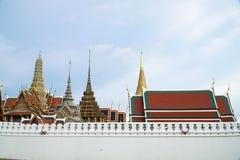 BANGKOK, THAILAND - Augustus 27: Foto in Wat Phra Kaew en syk op 27 Augustus 2016 in Bangkok, Thailand Stock Afbeelding