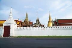 BANGKOK, THAILAND - Augustus 27: Foto in Wat Phra Kaew en syk op 27 Augustus 2016 in Bangkok, Thailand Royalty-vrije Stock Foto