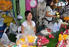 Bangkok, Thailand: Bangkok Flower Market Stock Photos