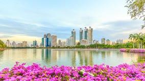 Bangkok thailand  Benjasiri Park Stock Photos