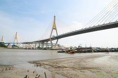 Bangkok, Thailand : Bhumibol Bridge Stock Images