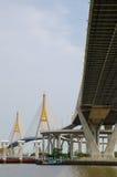 Bangkok Thailand: Bhumibol bro Royaltyfria Bilder