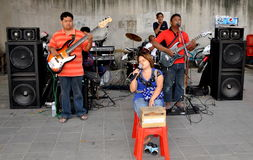 Bangkok, Thailand: Blind Musicians Stock Photos