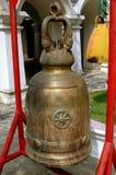 Bangkok, Thailand: Bronze Temple Bell Royalty Free Stock Image