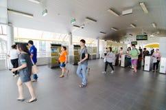Bangkok, Thailand : BRT bus station Royalty Free Stock Image