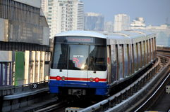 Bangkok, Thailand: BTS Skytrain Stock Photo