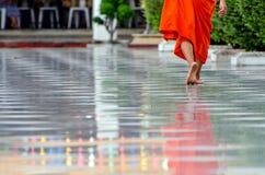 Bangkok (Thailand), Buddhist Monk Royalty Free Stock Photo