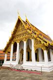 BANGKOK Thailand : Buddhist temple. In the grounds of the Grand Palace in Bangkok, popular with worshippers from all over Thailand Stock Image
