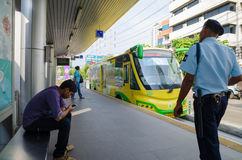 Bangkok, Thailand : Bus rapid transit (BRT) Stock Photos