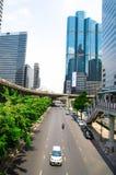 Bangkok, Thailand : Business district Stock Photos