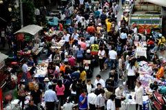 Bangkok, Thailand: Bustling Silom Road Stock Images