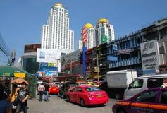 Bangkok, Thailand: Busy Thanon Ratchadamri Royalty Free Stock Photos