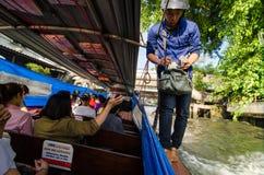 Bangkok, Thailand : Canal Royalty Free Stock Image