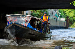 Bangkok, Thailand : Canal Royalty Free Stock Images