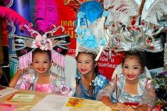 Bangkok, Thailand: Celebrating Chinese New Year Royalty Free Stock Image