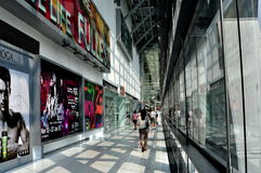 Bangkok, Thailand: Central World Passage Stock Image
