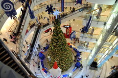 Bangkok, Thailand: Central World Xmas Tree Stock Photography
