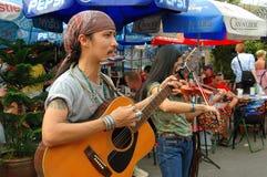 Bangkok, Thailand: Chatuchak Market Musicians Stock Photos