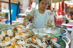 Bangkok, Thailand: Chinatown Food Vendor Stock Image
