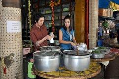 Bangkok, Thailand: Chinatown Restaurant Royalty Free Stock Images
