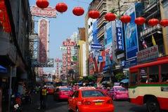 Bangkok, Thailand: Chinatown's Yaowarat Road Stock Images