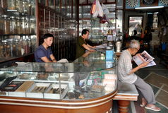 Bangkok, Thailand: Chinese Herbal Shop Stock Photos