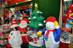 Bangkok, Thailand: Christmas Shop Royalty Free Stock Photo