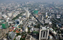 Bangkok, Thailand: City Panorama Royalty Free Stock Photo