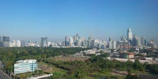 Bangkok, Thailand City Skyline Panorama Royalty Free Stock Photography