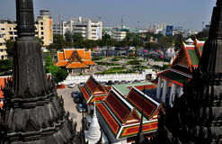 Bangkok, Thailand: City View from Loha Prasat Stock Photo