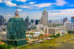 Bangkok Thailand Cityscape Royalty Free Stock Photography