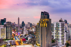 Bangkok Thailand Cityscape Royalty Free Stock Photos