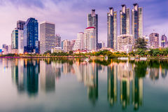 Bangkok, Thailand Cityscape Royalty Free Stock Photos