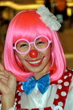 Bangkok, Thailand: Clown Girl at Gaysorn Plaza Stock Photography