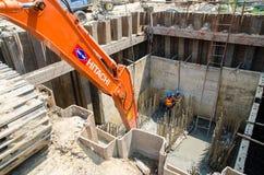Bangkok Thailand : Construction Workers Stock Image