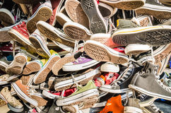 Bangkok,Thailand:Converse All Star shoes Stock Photography