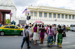 Bangkok, Thailand : Crosswalk Stock Photos