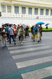 Bangkok, Thailand : Crosswalk Royalty Free Stock Image