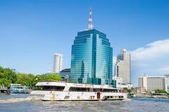Bangkok, Thailand : Cruise boat Royalty Free Stock Images