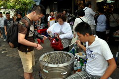 Bangkok, Thailand: De Markt van het Weekend van Chatuchak Stock Afbeeldingen