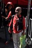 Bangkok/Thailand - 05 15 2012: De Rode Overhemden blokkeren Ratchaprasong/Asok Royalty-vrije Stock Foto