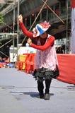 Bangkok/Thailand - 05 15 2012: De Rode Overhemden blokkeren Ratchaprasong/Asok Stock Afbeelding