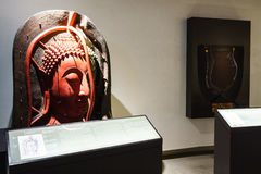 BANGKOK THAILAND - DEC 18: Den guld- Buddha, Phra Buddha Maha Royaltyfria Foton