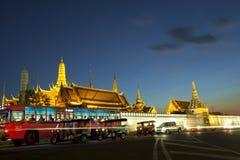 BANGKOK THAILAND DEC 31 :  Tuk Tuk  thailnad parking on road in Stock Image