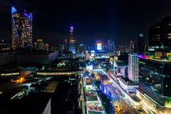 BANGKOK, THAILAND - DECEMBER 31, 2017: Royalty-vrije Stock Foto