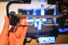 Free BANGKOK, THAILAND - DECEMBER 27, 2017: Epson Launches Smart Glasses Stock Images - 142523164